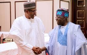 Tinubu meets Buhari