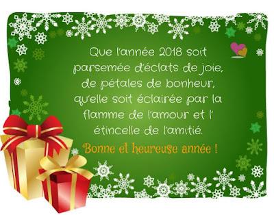Super Vœux nouvel an : Textes pour souhaiter une bonne année 2018  JN56