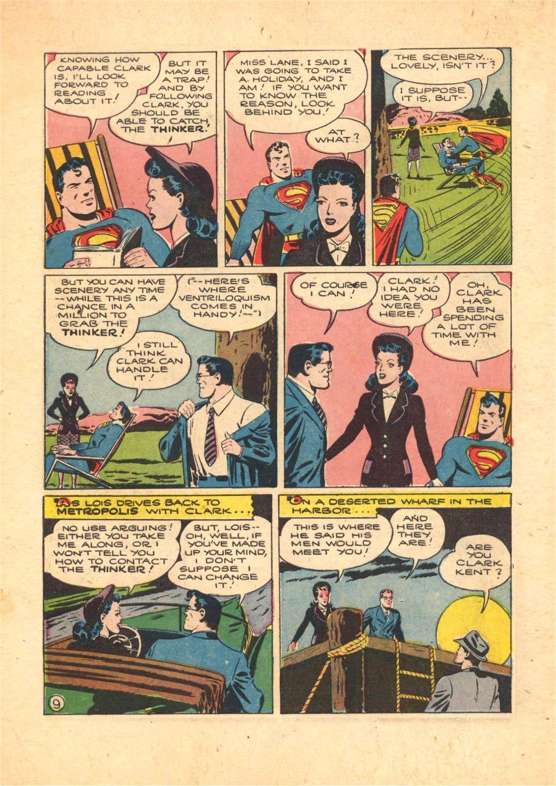 Read online Action Comics (1938) comic -  Issue #70 - 11