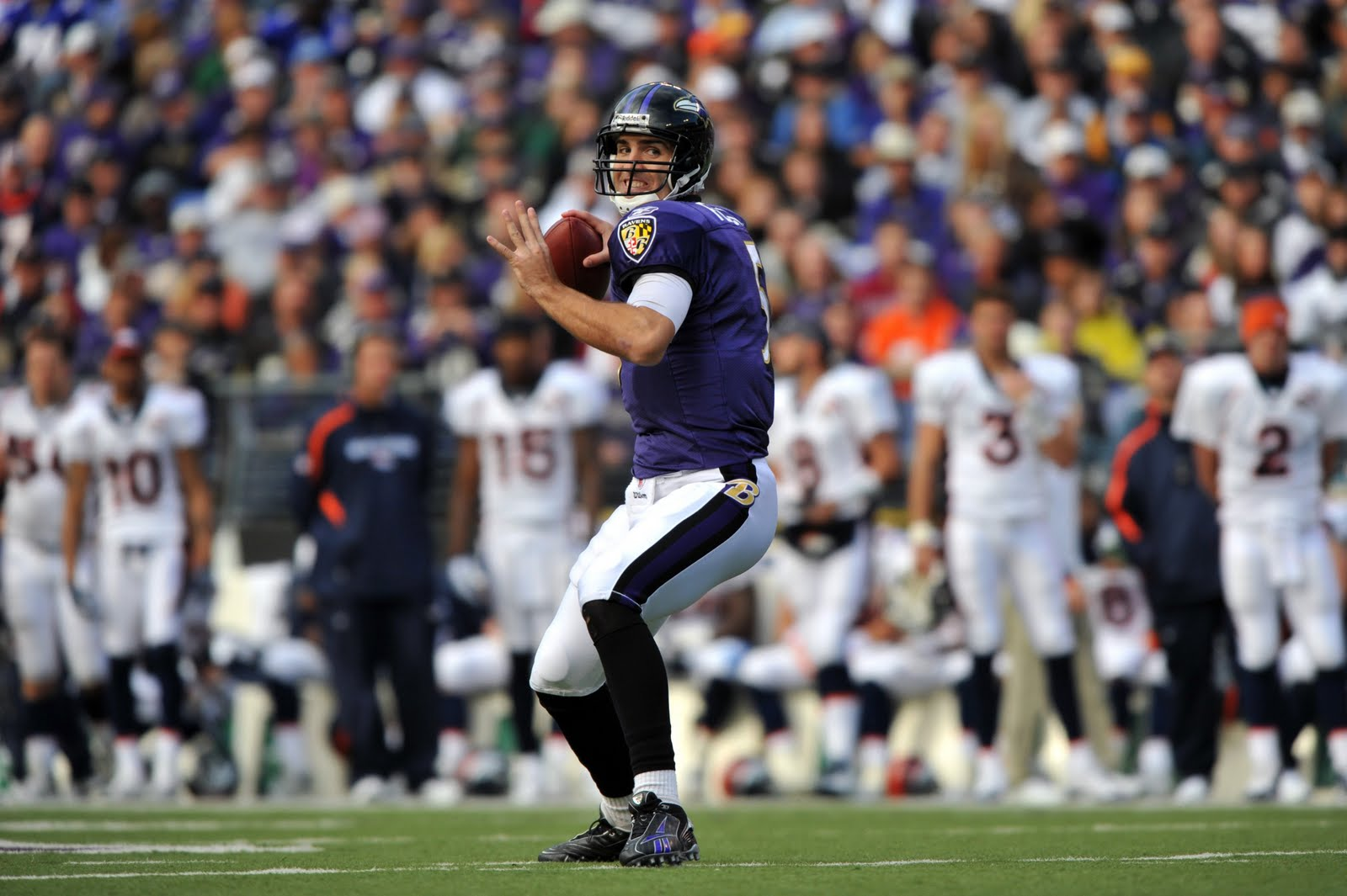 Joe Flacco Throwing Deep