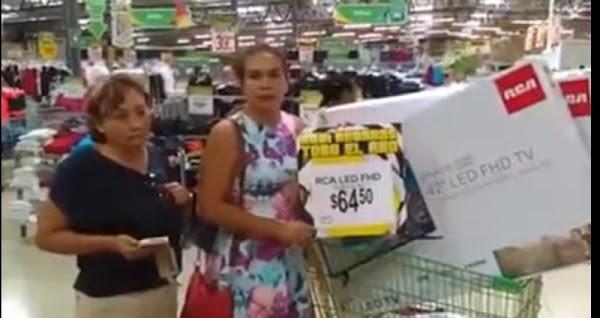 Obligan a vender pantallas a 64.5 pesos en tienda de autoservicio.