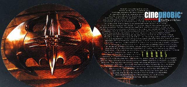 Cinephobic Batman Forever Soundtrack Tin Box