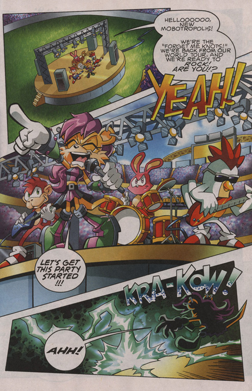 Read online Sonic The Hedgehog comic -  Issue #201 - 4