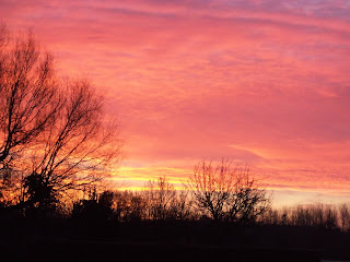 coucher soleil touraine