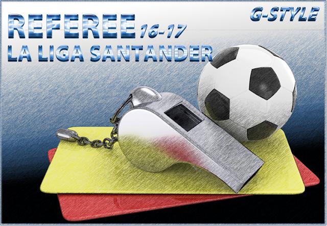 PES 2017 LaLiga Santander Referee pack dari G-Style