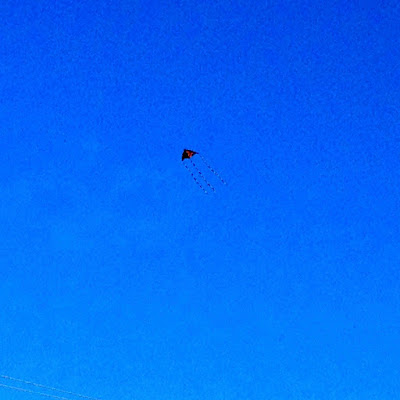 March: kite over the St. Croix