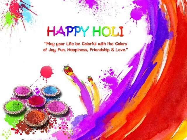 Holi Messages SMS With Images
