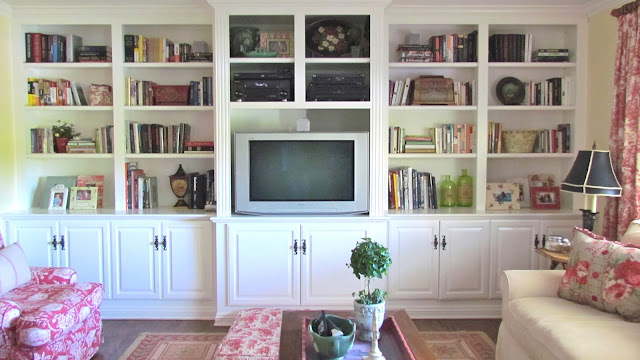 family-room-built-ins-french-country