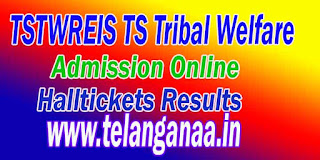 TSTWREIS TS Tribal Welfare 5th 7th 8th 9th Class Entrance Test Online Apply Halltickets Results Download