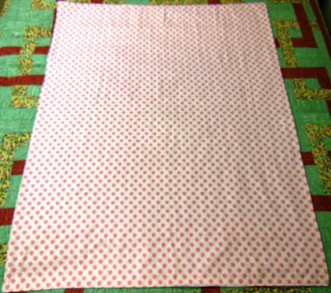 Mistress Of Quilts Sweet Chic Flannel Baby Blanket