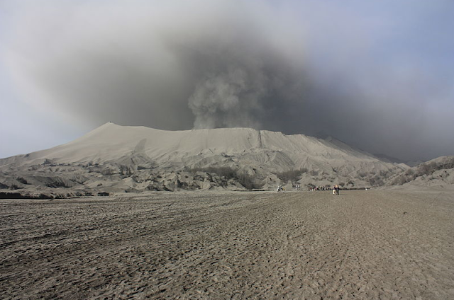 Mount Bromo Eruption