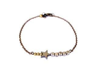 idées cadeaux femme bracelet étoile