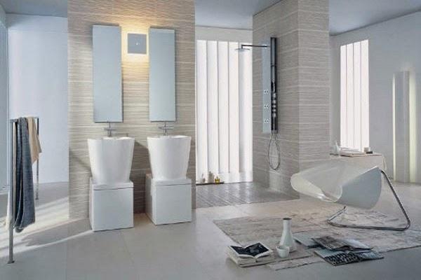 cara menata kamar mandi minimalis