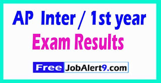 AP Junior Inter / 1st year Result 2017 Jr.Inter Final Exam Result