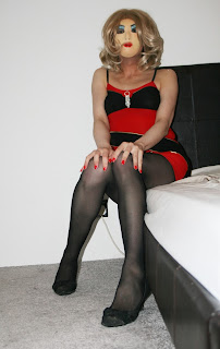 Married sissy transvestite who lusts after black men