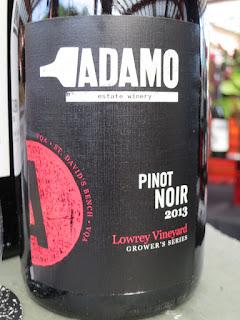 Adamo Lowrey Vineyard Pinot Noir 2013 - VQA St. David's Bench, Niagara Peninsula, Ontario, Canada (91 pts)