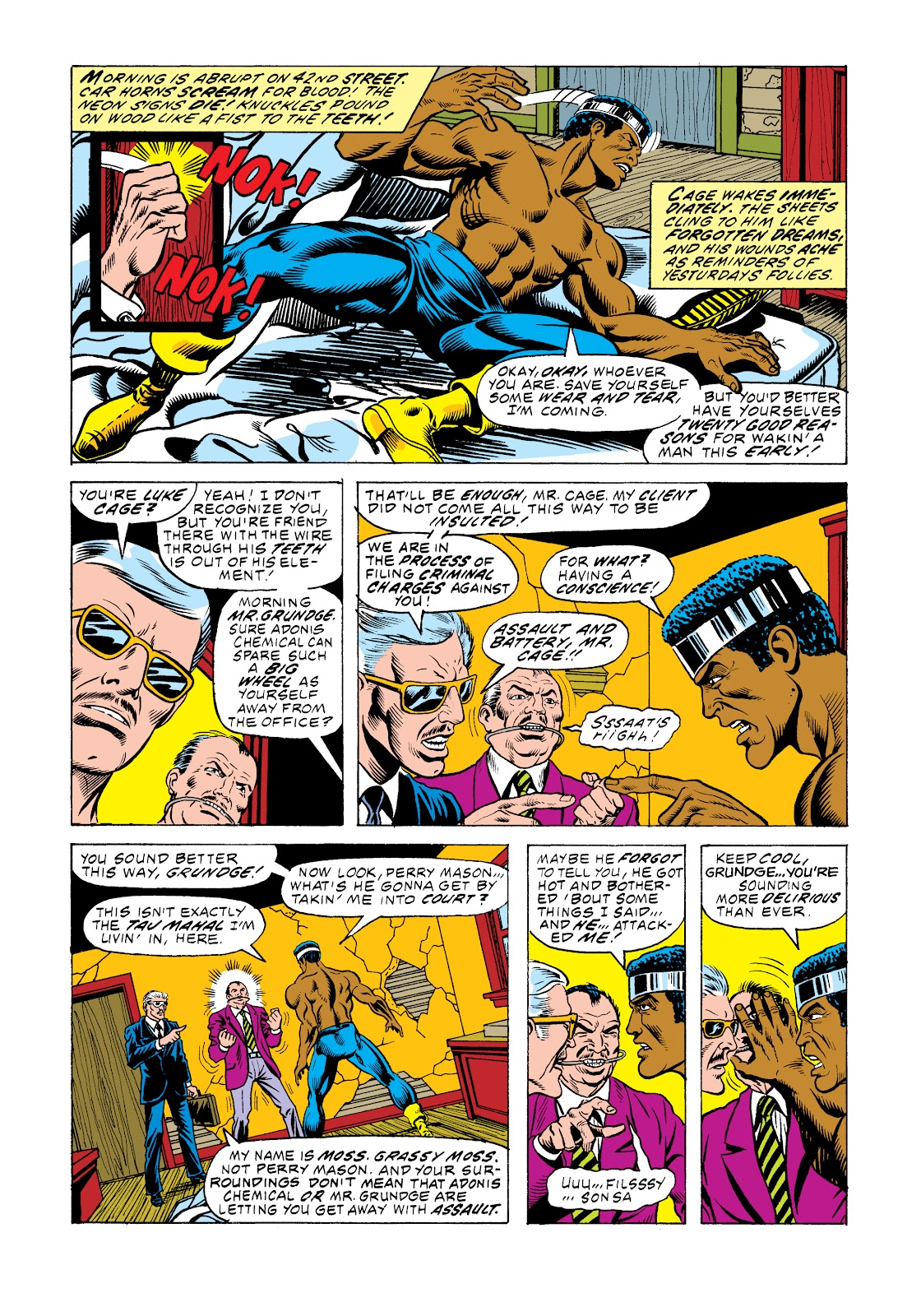 Read online Marvel Masterworks: Luke Cage, Power Man comic -  Issue # TPB 2 (Part 3) - 68