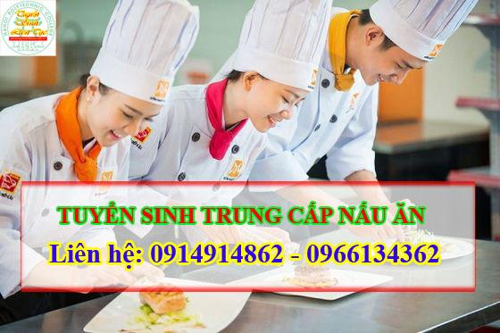 Tuyển sinh liên tục Trung cấp nấu ăn chính quy tại Hà Nội