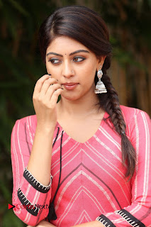 Actress Anu Emmanuel Pictures at Majnu Success Meet  0011.JPG