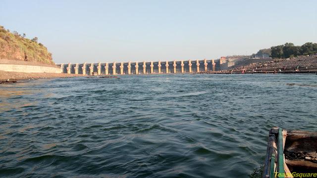 Omkareshwar Dam across River Narmada