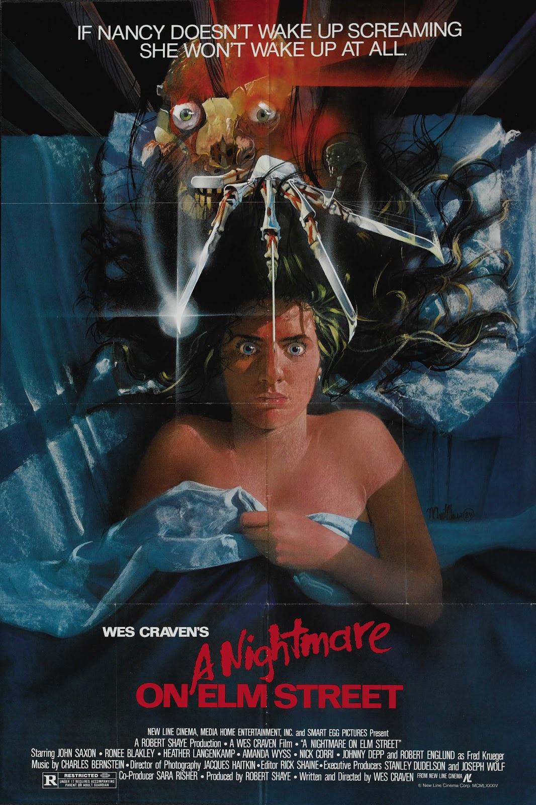 Ray Mission: Hump Day Posters: A Nightmare on Elm Street (1984