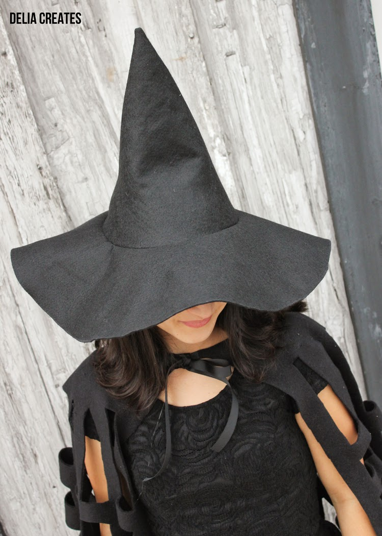 Make a Witch Hat in Any Size TUTORIAL d0c7d30b44ff