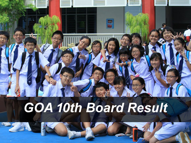 Goa Board 10th Result 2018 GBSHSE SSC Result Declared Online