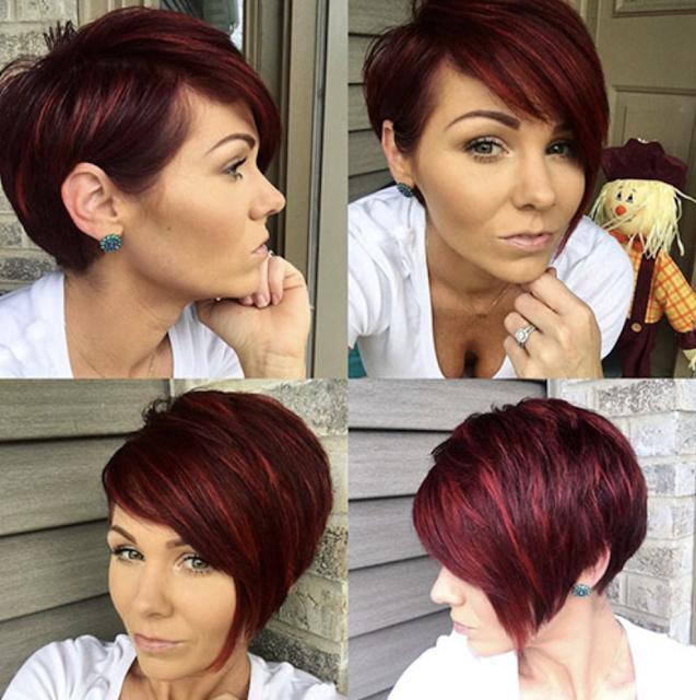 pixie bob haircut with bangs