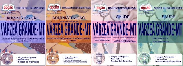 Apostila do concurso Prefeitura Municipal de Várzea Grande Concurso 2017