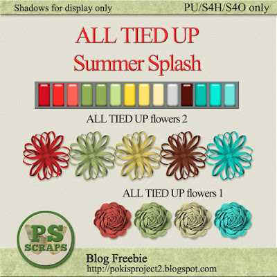 REPRISE:  ALL TIED UP-SUMMER SPLASH collection