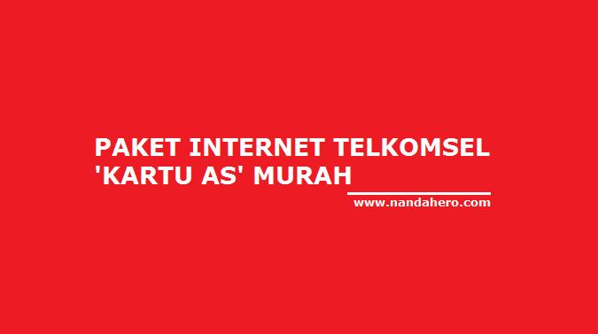 Cara Daftar beli Paket Internet Kartu As bulanan murah 20 Ribu Kuota 3GB Terbaru 2018