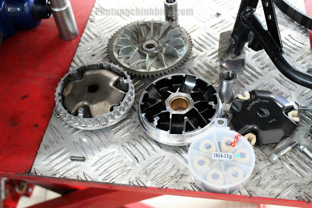 Sửa xe tay ga - Những lưu ý về nồi xe Honda Sh