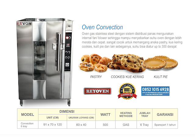 Jual Oven Convection di Jakarta