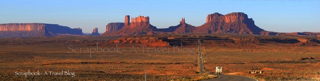 US Route 163 to Monument Valley Tribal Park