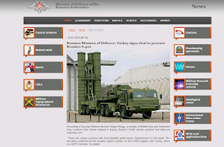 Russian S-400 air defense system