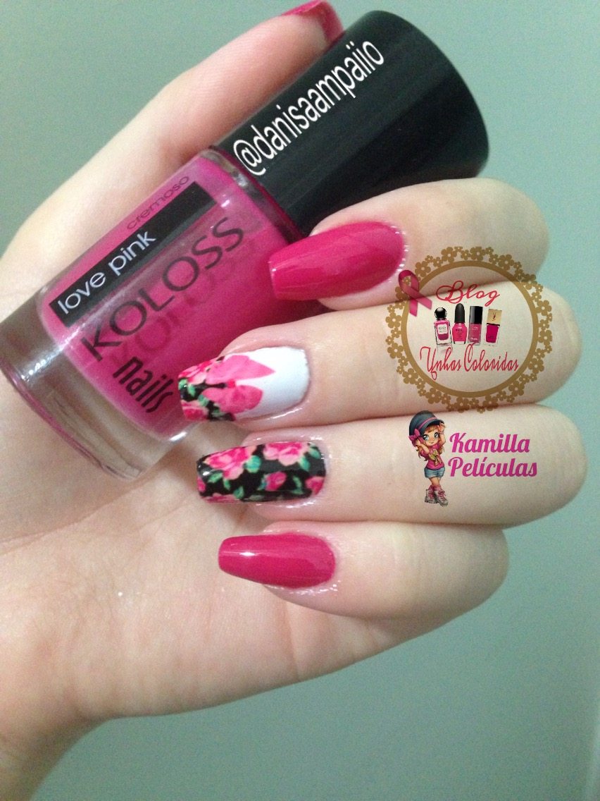 love pink koloss nails