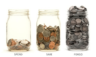 Spend Save Forgo Jars