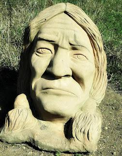 Índio - Jardim das Esculturas, Júlio de Castilhos (RS)