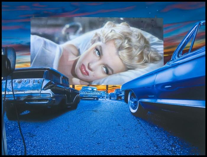 Adam Scott Rote | pintor hiperrealista americana | Marilyn Monroe