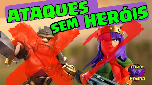 PT em CV9 Full no Clash of Clans
