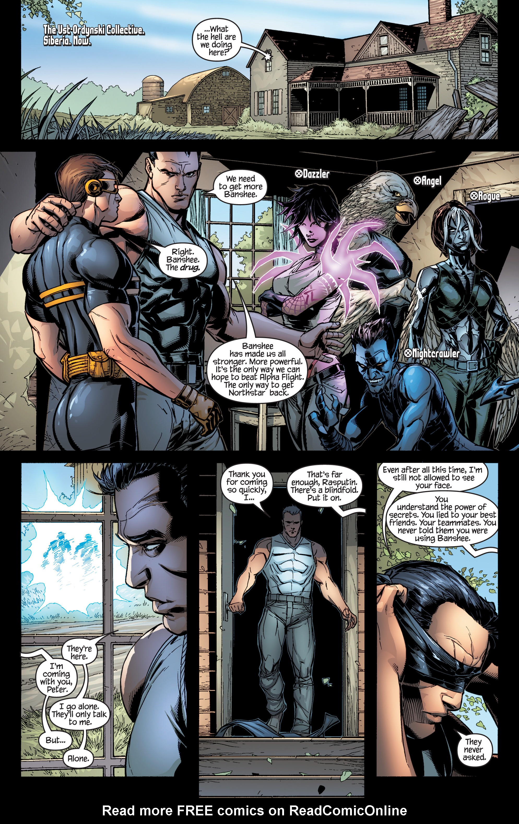 Read online Ultimate X-Men comic -  Issue #95 - 6