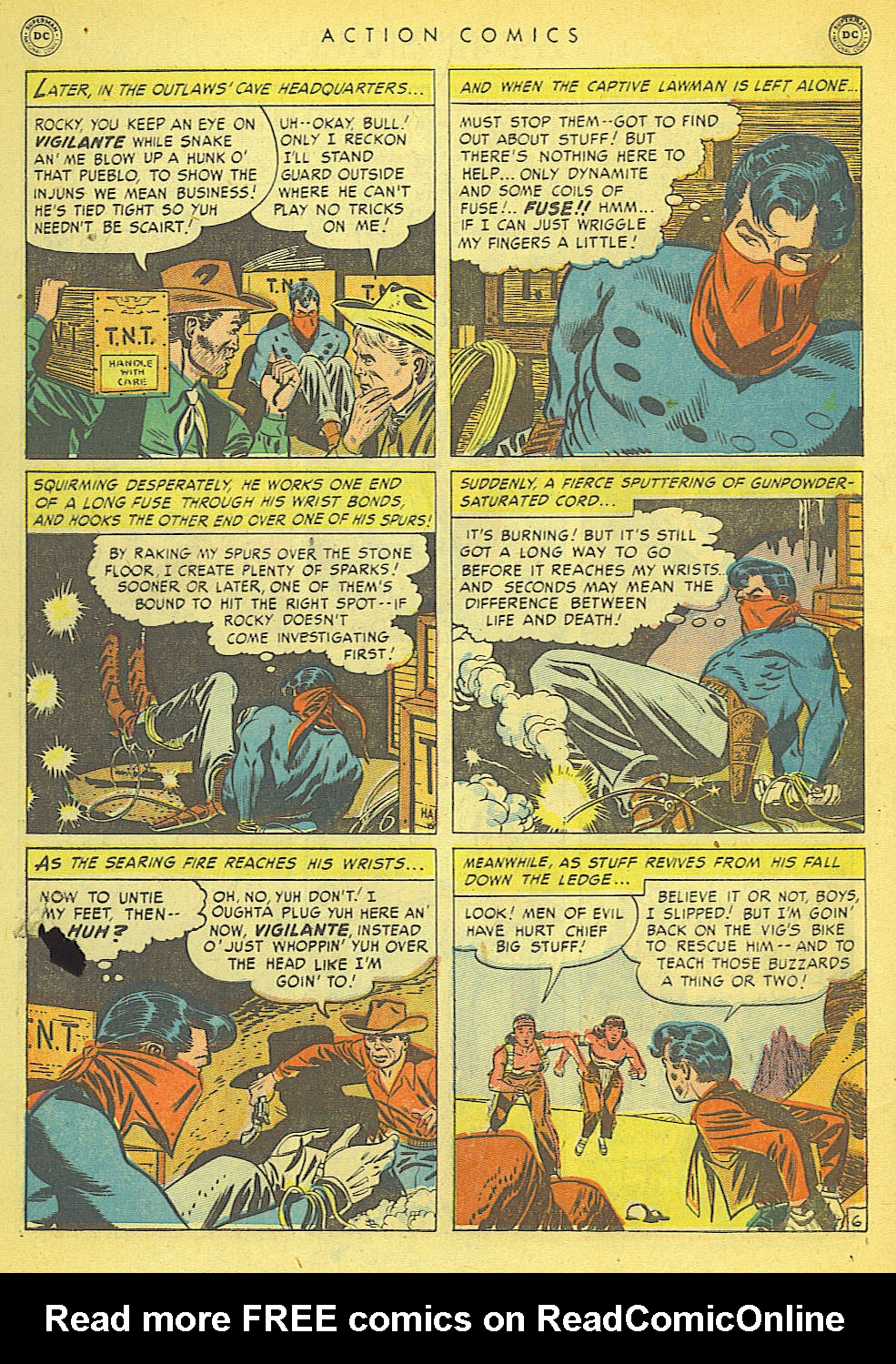 Read online Action Comics (1938) comic -  Issue #152 - 44