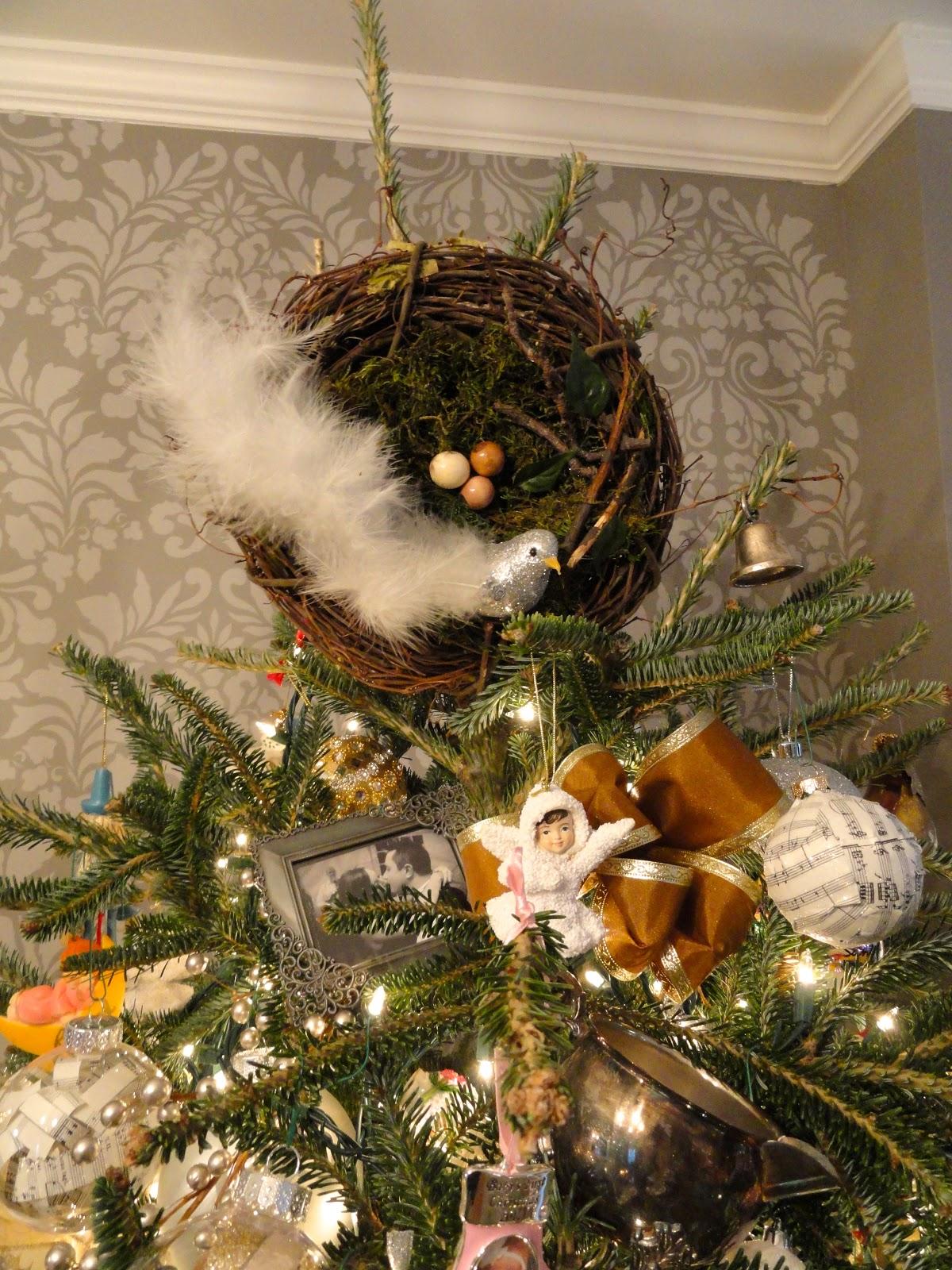 Bird Christmas Tree Topper