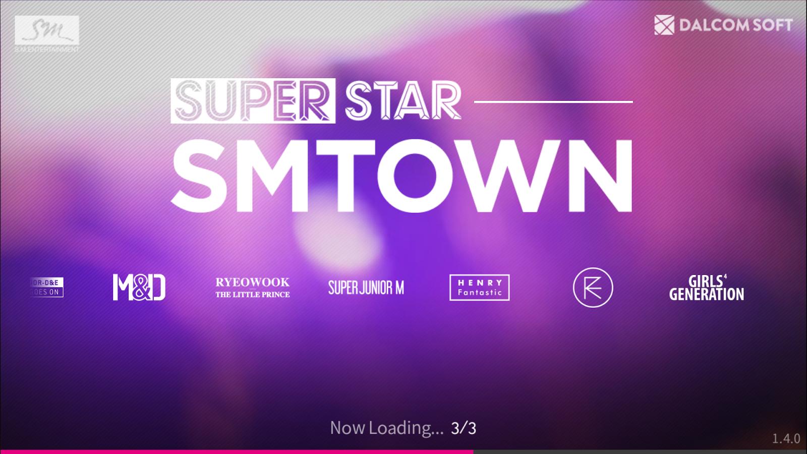 superstar smtown game