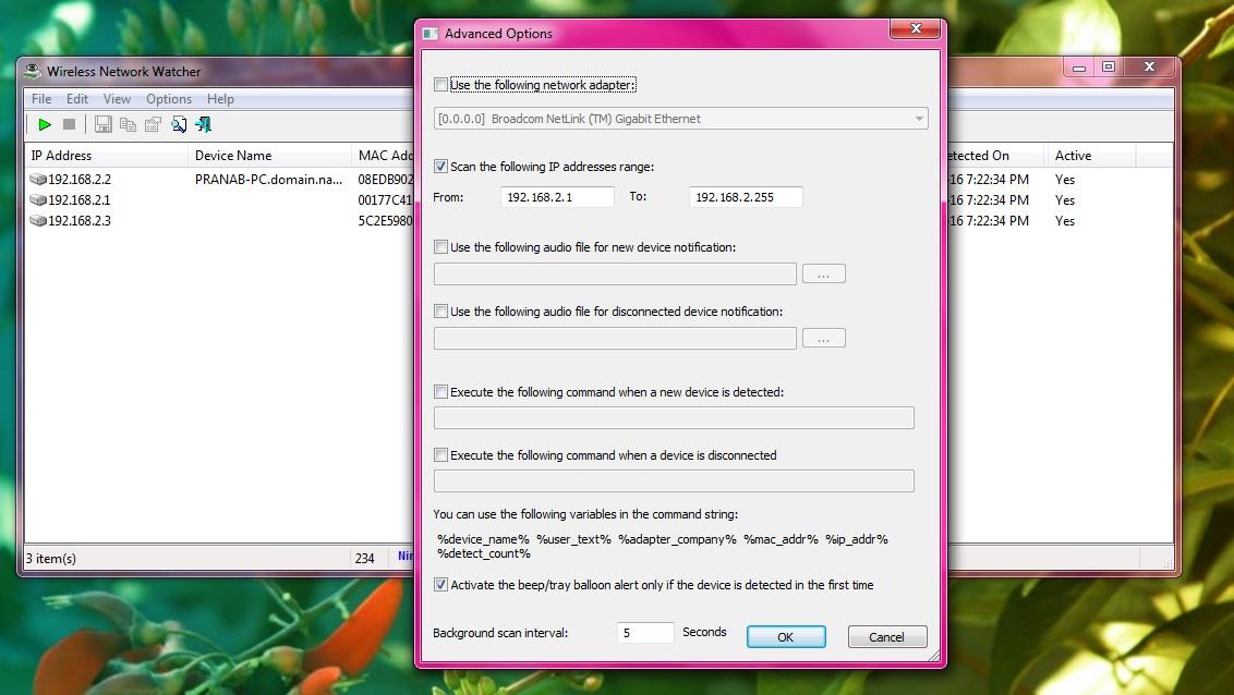 wireless network watcher software