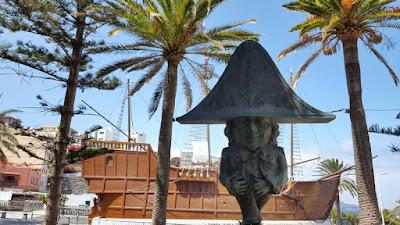 Statua a Santa Cruz di La Palma
