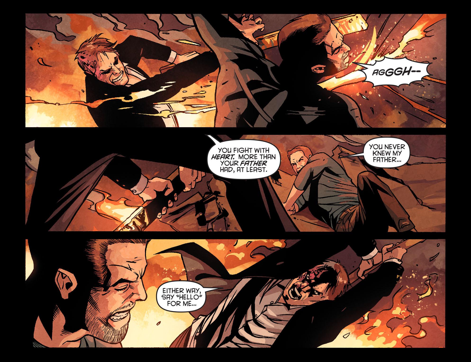 Read online Arrow: Season 2.5 [I] comic -  Issue #22 - 15