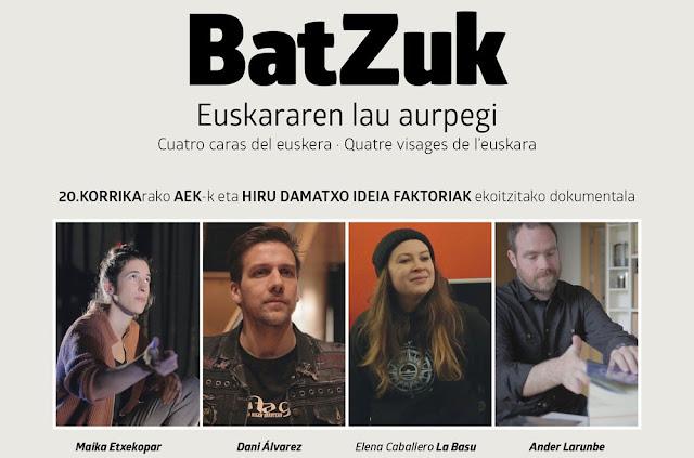 BatZuk: Euskararen lau aurpegi