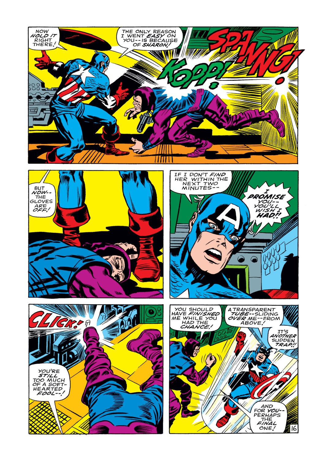 Captain America (1968) Issue #108 #22 - English 17
