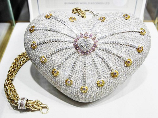 Tas Termahal Mouawad 1001 Nights Diamond Purse